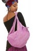 Khadi Cotton Boho Bag, Slouchy Hippy Banana Bag in Lilac - Khadi Slouch Bag (DBKHBAB) by Altshop UK