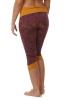 Fold Top Pixie Pirate Leggings in Purple & Mustard - Lotus Leggings (DBLOTL) by Altshop UK