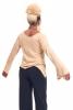 Loose Pixie Top, slouch comfy goddess top in Beige - Loose Top (DBLSLY) by Altshop UK