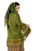 Pixie Hood Beach Kimono in Green - Pixie Hood Kimono (DBPO17217) by Altshop UK