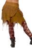 Goa Layered Lace Wrap Miniskirt in Masala - Devi Skirt (DCDEVI) by Altshop UK