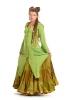 Elven Jute Jacket with Pixie Hood in Green - Dukan Jacket (DCDUKN) by Altshop UK