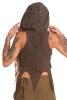 Pixie Queen Hooded Psy Top in Brown - Swallowtail Vest (DCSWALT) by Altshop UK