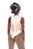 Natural Hemp Vest, Boho Hippy Bohemian Festival Waistcoat - Natural Vest (DEVNAT) by Altshop UK