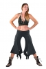 Pixie Pirate Pants, Psy Trance Festival Pirate Trousers in Black - Pirate Trousers (DEVPIRT) by Altshop UK