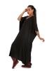 Witchy Flowy Cotton Kaftan Kimono in Black - Kaftan Kimono (DMKAFKIM) by Altshop UK