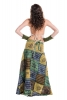 Long Earthy Hippy Patchwork Wrap Skirt  in Leaf - Earth Skirt (DSCN27817) by Altshop UK