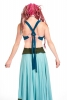 Cotton Bikini Top, Belly Dance Bra, Beach Top, Hoop Clothing in Turquoise - Plain Bikini Top (GUBRA) by Altshop UK