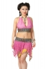 Upcycled Sequin Bikini and Skirt Set in Sherbet - Pixie Bikini Set (LTPIXB) by Altshop UK