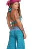 Crop Top and Flares Set in Blue - Summer Set (MEM11) by Altshop UK