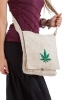 Ganja Leaf Eco Hemp Shoulder Bag