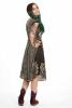 African Dashiki Print Dress, Angelina Summer Dress in Black - Angelina Dress (RFANGD) by Altshop UK