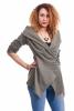 Bohemian Wrap Jacket, boho jacket, boho chic cardigan in Khaki - Buckle Wrap Jacket (RFBUCK) by Altshop UK