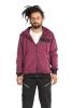 Flower Of Life Hoodie Jacket, men's sacred geometry top in Magenta - New FOL Hoodie (RFFLHJ2) by Altshop UK