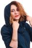 Flower of Life Jacket, sacred geometry tribal hoodie in Blue - Sira Jacket (RFFLSJ) by Altshop UK