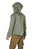 Mens Cyber Elf Hoodie, Mans Pixie Hood Jacket in Green - Cyber Elf Jacket (RFGANJ) by Altshop UK