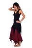 Pixie Dress, Psy Trance Clothing, Burning Man Clubbing Dress in Black - Jaya Dress (RFJAYA) by Altshop UK