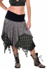 Pagan Wiccan Hippy Goddess Lace Layered Skirt in Green - Three Layer Skirt (RFTHLAS) by Altshop UK