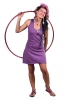 Flower of Life Sacred Geometry Dress, Racerback Tunic Dress in Purple - Tunika (RFTUNKA) by Altshop UK