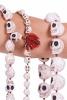 Halloween Sugar Skulls Necklace, kali bone skull beads overview of sizes - Kali Mala (RISHKMA) by Altshop UK