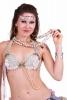 Halloween Sugar Skulls Necklace, kali bone skull beads Small - Kali Mala (RISHKMA) by Altshop UK
