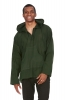 Natural Hemp Hoodie, Mans Eco Hemp Hoodie in Green - Hemp Kurta (RMHEMK) by Altshop UK