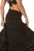 Long Boho Gypsy Queen Skirt in Black - Bobbin Skirt (ROKBOBS) by Altshop UK