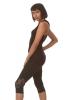 Cross Back Yoga Sports Tank Top in Black - Martina Top (ROKMARR) by Altshop UK