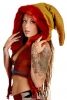 Furry Woodland Pixie Spirit Hood in Woodland - Pixie Party Hood (ROKPAHO) by Altshop UK