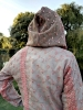 Sparkly Fairy Sequin Rave Hoodie in Salmon Pink - Fairy Hoodie (ROKPFAE) by Altshop UK