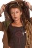 Jute Hippy Hoodie with Extra Large Hood in Brown - Jute Hoodie (ROKPJH) by Altshop UK