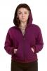 Natural Jute Cotton Large Hood Festival Jacket - Plain Jute Hoodie (ROKPJH2) by Altshop UK