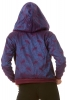 Brocade Paisley Cropped Hoodie in Purple - Paisley Hoodie (ROKSATH) by Altshop UK