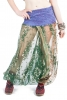 Sheer Beaded Seethrough Bellydance Harem Fairy Trousers in Absinthe - Poetry Ali Babas (SDALIS) by Altshop UK