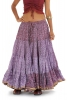 25 Yard Gypsy Bellydance Skirt, tribal fusion dance skirt in Lilac - Siddartha Skirt (SDBESK) by Altshop UK