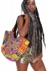 Large Hippy Mirrored Banjara Bucket Tote - Shopper Tote (SDHTOT) by Altshop UK