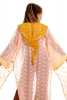 Fae Queen Upcycled Ceremonial Jacket in Peachy - Ceremonial Faerie Jacket (SDWIZ) by Altshop UK