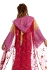 Fae Queen Upcycled Ceremonial Jacket in Peony - Ceremonial Faerie Jacket (SDWIZ) by Altshop UK