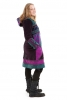VELVET MANDALA BOHO WINTER COAT - Butterfly