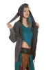 Pixie Hood Festival Jacket in Blue - Berlin Jacket (UF401) by Anki