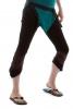 PIXIE LEGGINGS, psy trance yoga clothing - Black & Brown