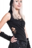 Four Directions Top, Gothic Pixie Top - Black