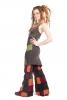 Earthy Psy Trance Overlock Pixie Festival Strappy Dress - Twist Dress (WASTWIS) by Altshop UK
