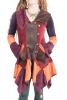 Velvet Patchwork Jacket, Woodland Fairy Jacket - Tinker Bell Cardigan (WCA1016) by Altshop UK