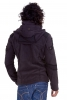 Men's Psy Trance Fleece Jacket, man's hippy clothing in Black - Aragorn Jacket (WS09A) by Altshop UK