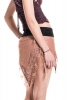 Pixie Ragged Tutu Elf Skirt, grunge festival skirt - Peach
