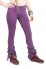Psy Trance Leggings, Pixie Frilly Trousers in Purple - Long Leggings (WSLOLE) by Altshop UK
