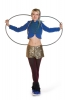 Military Circus Cropped Jacket, Boomtown Soldier Costume in Blue - Military Jacket (WSMILJ) by Altshop UK