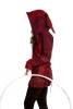 Pixie Hooded Jacket, hippy festival hoodie in Burgundy - Oak Jacket (WSNK187) by Altshop UK