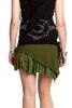 PIXIE POCKET MINISKIRT, psy trance skirt - Green
